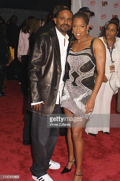 Regina King with husband Ian Alexander attending the 2003 Vibe Awards at the Santa Monica Civic Auditorium in Santa Monica Ca 11/20/03
