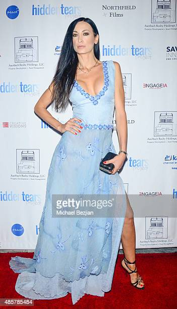 Regina Salpagarova attends Hidden Tears project launch at Sofitel Hotel on August 29 2015 in Los Angeles California