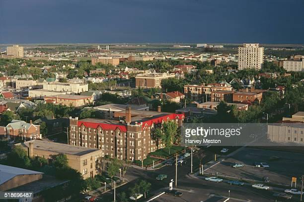 Regina, the capital city of the province of Saskatchewan, Canada, 1967.