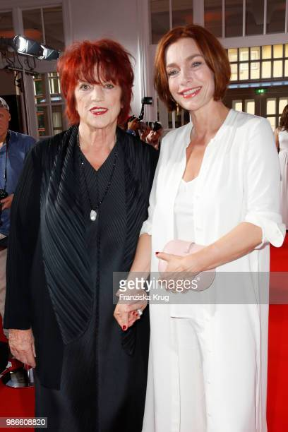Regina Ziegler and Aglaia Szyszkowitz attend the Emotion Award at Curiohaus on June 28 2018 in Hamburg Germany