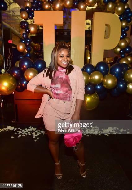 Reginae Carter attends A Private Birthday Celebration Honoring TIP at The Brasserie Atlanta on September 25 2019 in Atlanta Georgia