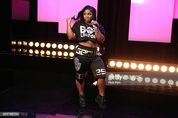 Reginae Carter performs at Music Choice on August 18 2014 in New York City