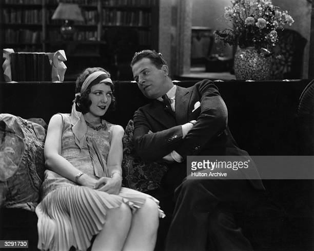 Reginald Denny and Merna Kennedy star in the Universal comedy 'Companionate Troubles' aka 'Embarrassing Moments'