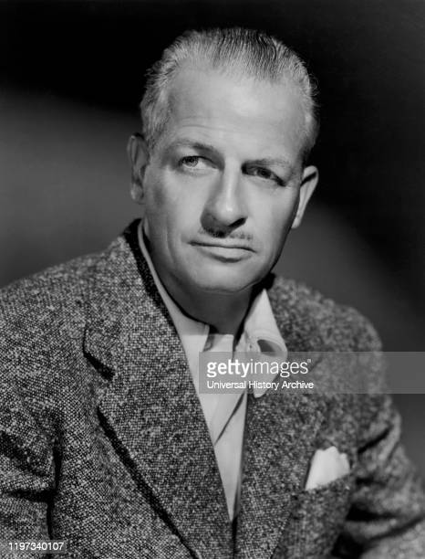 Reginald Denny Publicity Portrait for the Film Eyes in the Night MGM 1942