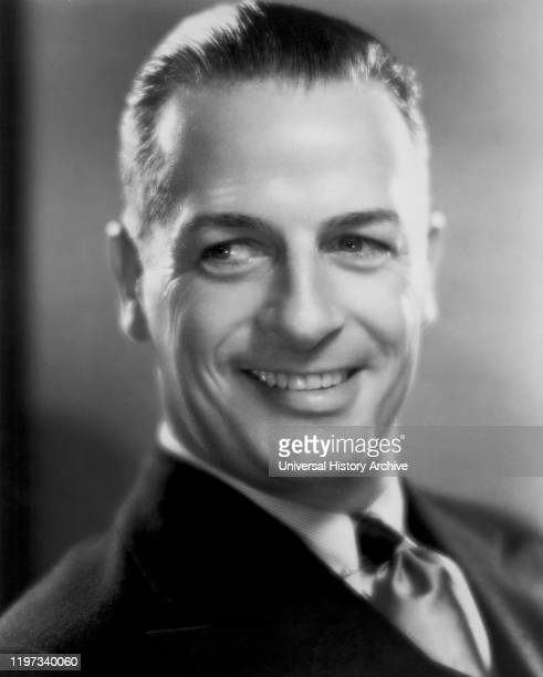 Reginald Denny Publicity Portrait for the Film One More River Universal Pictures 1934
