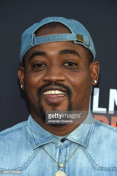 """Reginald Noble attends the Closing Night Screening of """"Nomis"""" during the 2018 LA Film Festival at ArcLight Cinerama Dome on September 28, 2018 in..."""