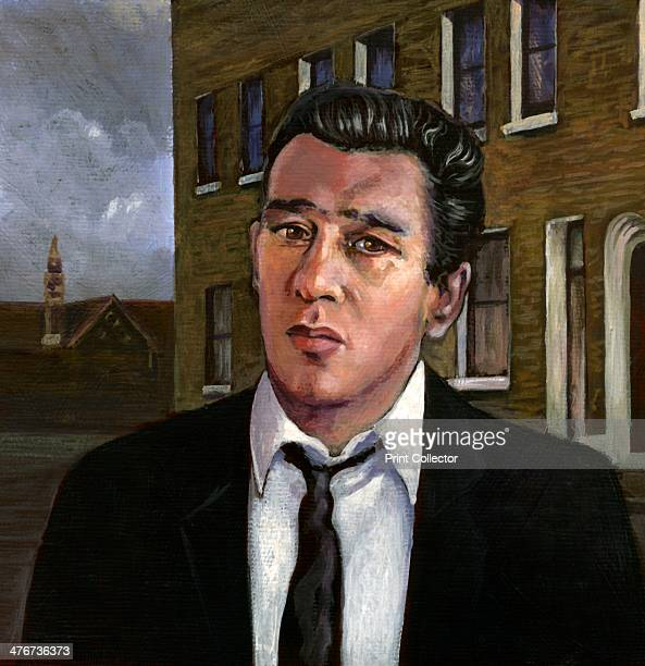 Reginald Reggie Kray 2013 In this contemporary painting he is imagined in front of his parent's house in Vallance Road Bethnal Green It was from...