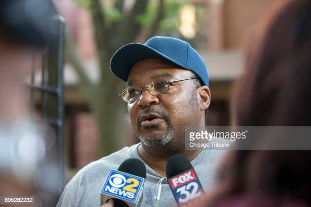 Reginald Taylor talks with reporters about Alexis Stubbs a 12yearold girl that was beaten to death in what officials are calling a domestic dispute...