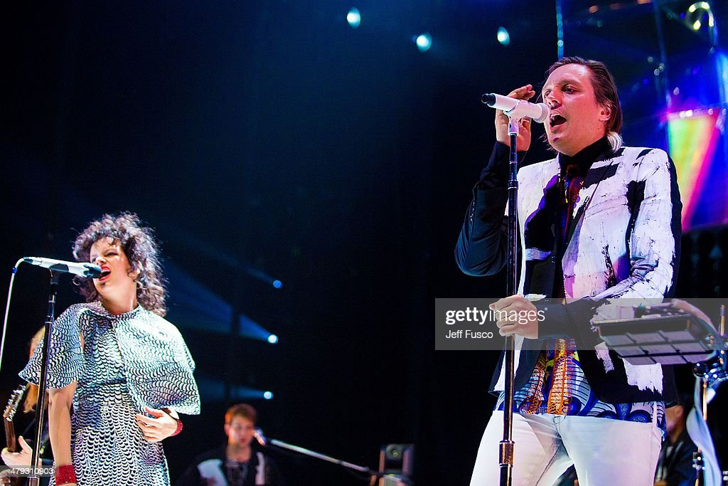 arcade fire in concert philadelphia pa photos and images getty