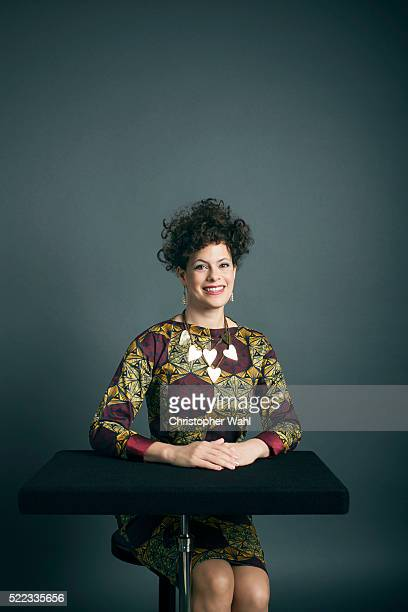 Regine Chassagne is photographed at the 2016 Juno Awards for The Globe and Mail on April 3 2016 in Calgary Alberta