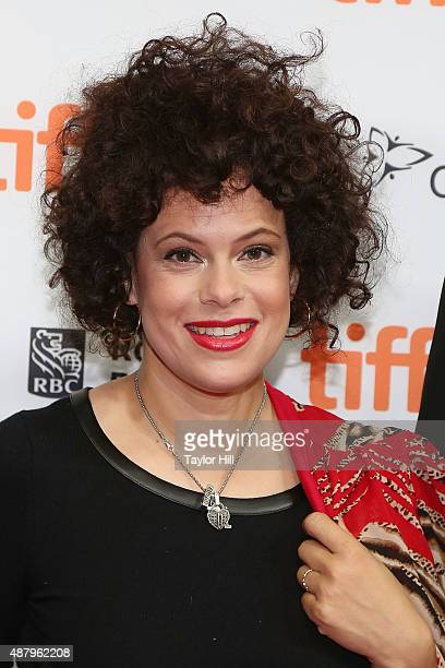 Regine Chassagne of Arcade Fire attends a photocall for 'The Reflektor Tapes' during the 2015 Toronto International Film Festival on September 12...