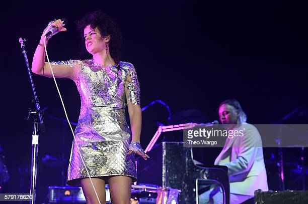 Regine Chassagne of Arcade Fire performs onstage at the 2016 Panorama NYC Festival Day 1 at Randall's Island on July 22 2016 in New York City