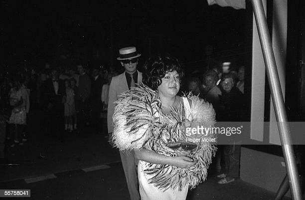 Regine French singer Paris 1965 HA121923