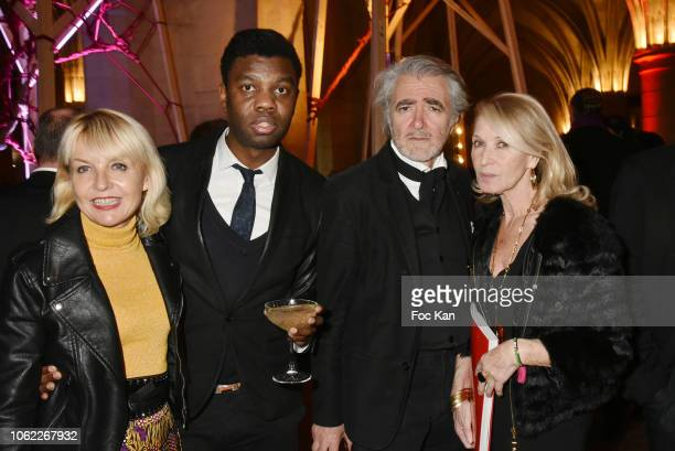 Regine Lebrun Jean Barthelemy Bokassa Ruben Alterio and Ruth Obadia attend 'Paris Finest' Judith BellerBest of Paris at Conciergerie on November 15...