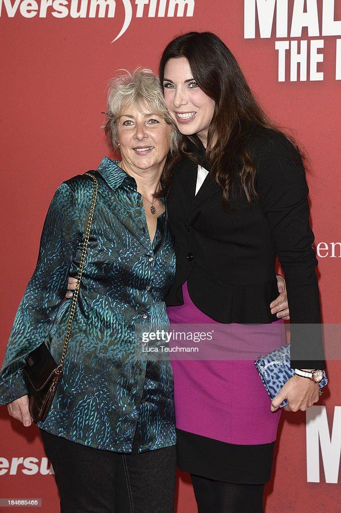 Regine Polzin and Alexandra Polzin attend the 'Malavita - The Family' Germany Premiere at Kino in der Kulturbrauerei on October 15, 2013 in Berlin, Germany.