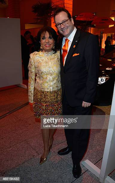 Regine Sixt and LarsEric Peters attend The Night The Winners Meet Party Hosted By Sixt on March 3 2015 in Berlin Germany