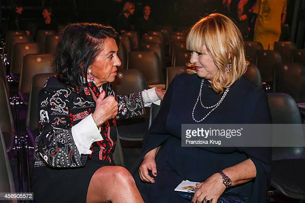 Regine Sixt and Patricia Riekel attend the Tribute To Bambi 2014 party on September 25 2014 in Berlin Germany