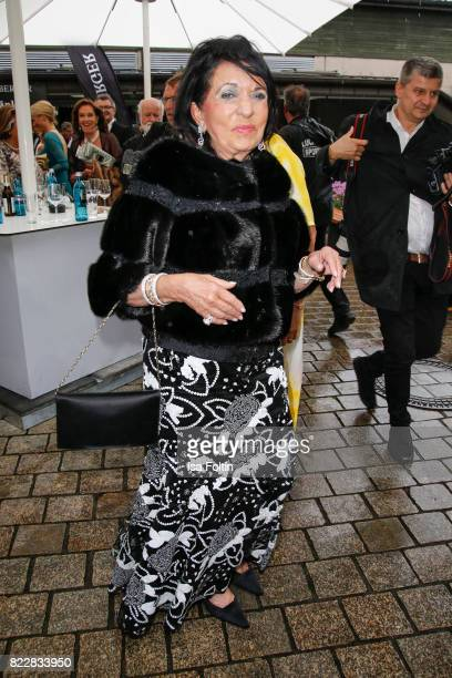 Regine Sixt attends the Bayreuth Festival 2017 Opening on July 25 2017 in Bayreuth Germany
