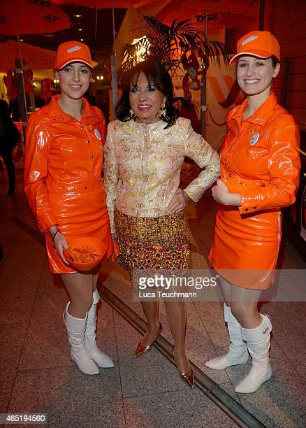 Regine Sixt attends The Night The Winners Meet Party Hosted By Sixt on March 3 2015 in Berlin Germany
