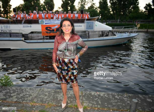Regine Sixt attends the summer party 2018 of the German Producers Alliance on June 7 2018 in Berlin Germany