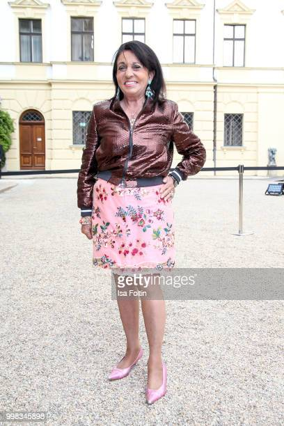 Regine Sixt attends the Thurn Taxis Castle Festival 2018 'Tosca' Opera Premiere on July 13 2018 in Regensburg Germany