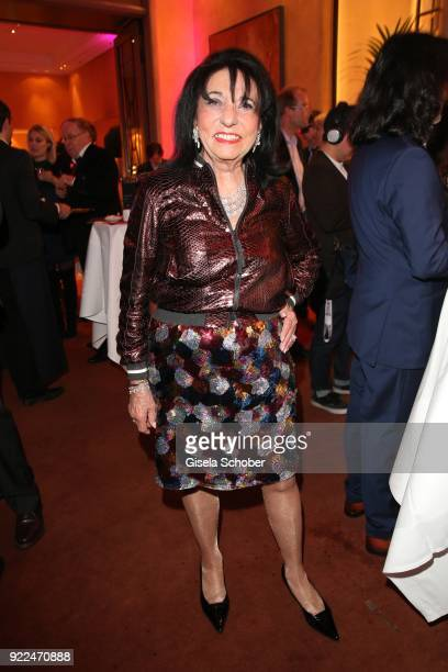Regine Sixt during the 15th Best Brands Award 2018 on February 21 2018 at Hotel Bayerischer Hof in Munich Germany