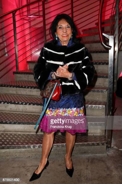 Regine Sixt during the 20th anniversary celebration of JETTE on November 17 2017 in Berlin Germany