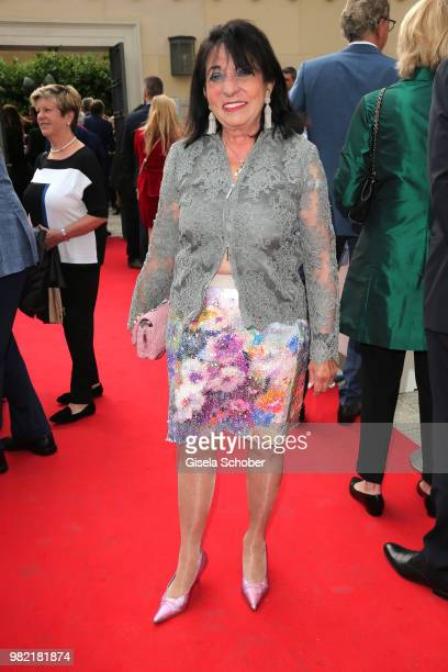 Regine Sixt during the reception of the '17 UniCredit FestspielNacht' at CuvilliesTheater on June 23 2018 in Munich Germany