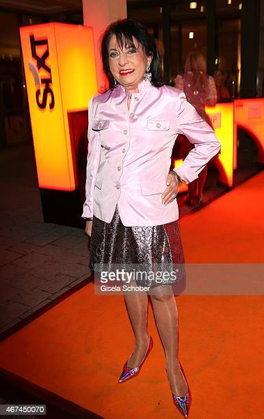 Regine Sixt during the SIXT fashion dinner at Nockherberg on March 24 2015 in Munich Germany
