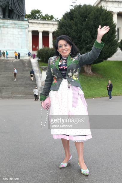 Regine Sixt during the Sixt Wiesn during the Oktoberfest at Theresienwiese on September 18 2017 in Munich Germany