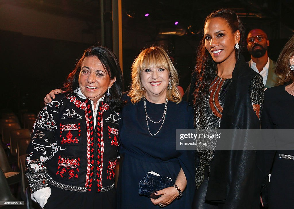 Regine Sixt, Patricia Riekel and Barbara Becker attend the Tribute To Bambi 2014 party on September 25, 2014 in Berlin, Germany.
