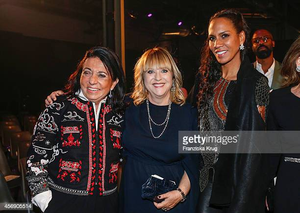 Regine Sixt Patricia Riekel and Barbara Becker attend the Tribute To Bambi 2014 party on September 25 2014 in Berlin Germany