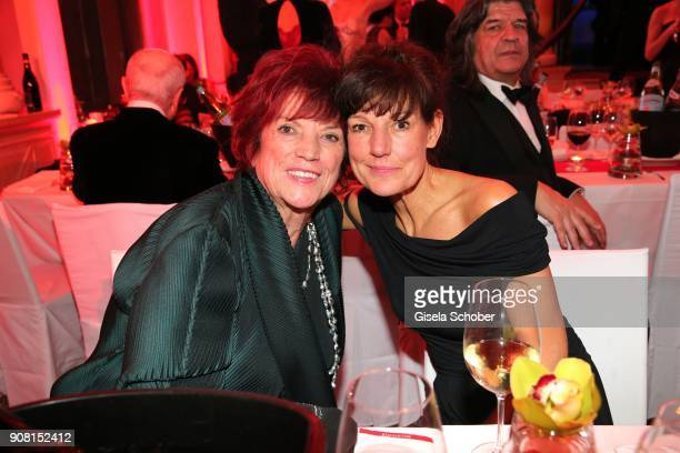 Regine Ziegler and her daughter Tanja Ziegler during the German Film Ball 2018 party at Hotel Bayerischer Hof on January 20 2018 in Munich Germany