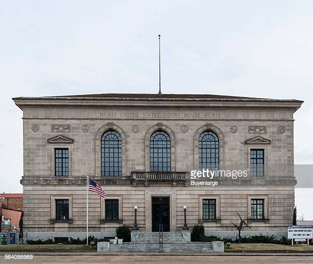 Regional Arts Center, home of the Regional Arts and Humanities Council in what was the original Federal District Courthouse in Texarkana, Texas