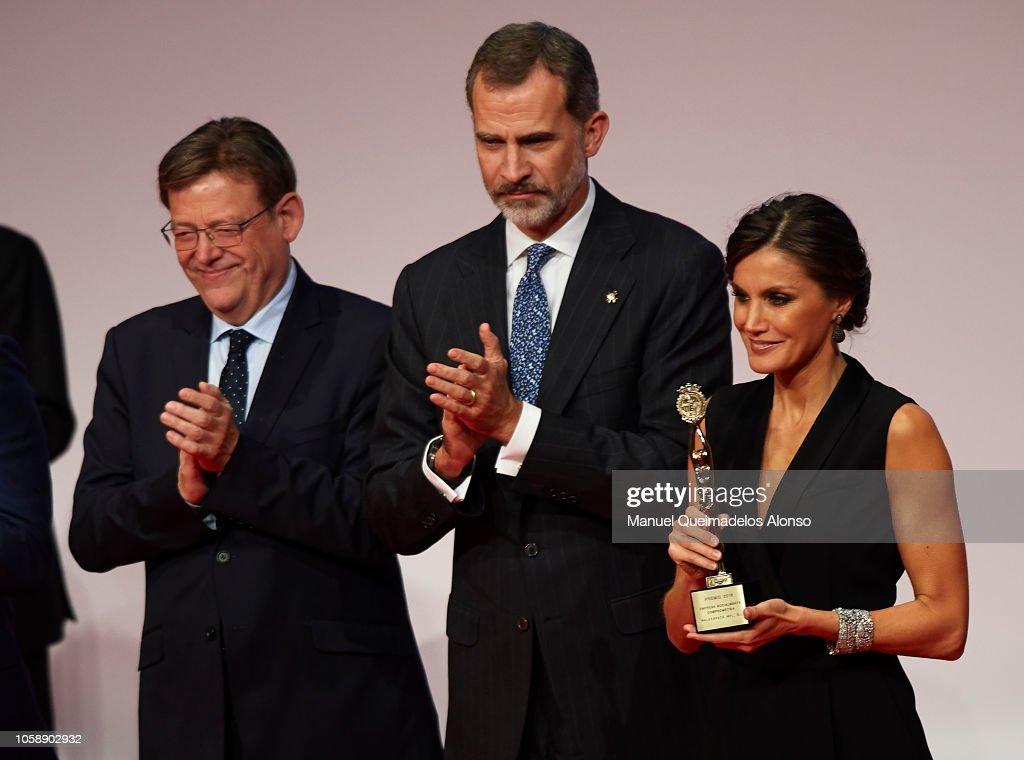 Высший свет. Хроники. (закрытая) - Страница 40 Regional-government-of-generalitat-valenciana-ximo-puig-king-felipe-picture-id1058902932
