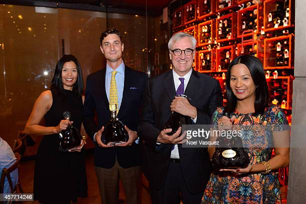 Regional Marketing Director Maria O'Connor guest Global Brand Ambassador Maurice Hennessy and West Coast Marketing Manager ThuyAnh J Nguyen attend...