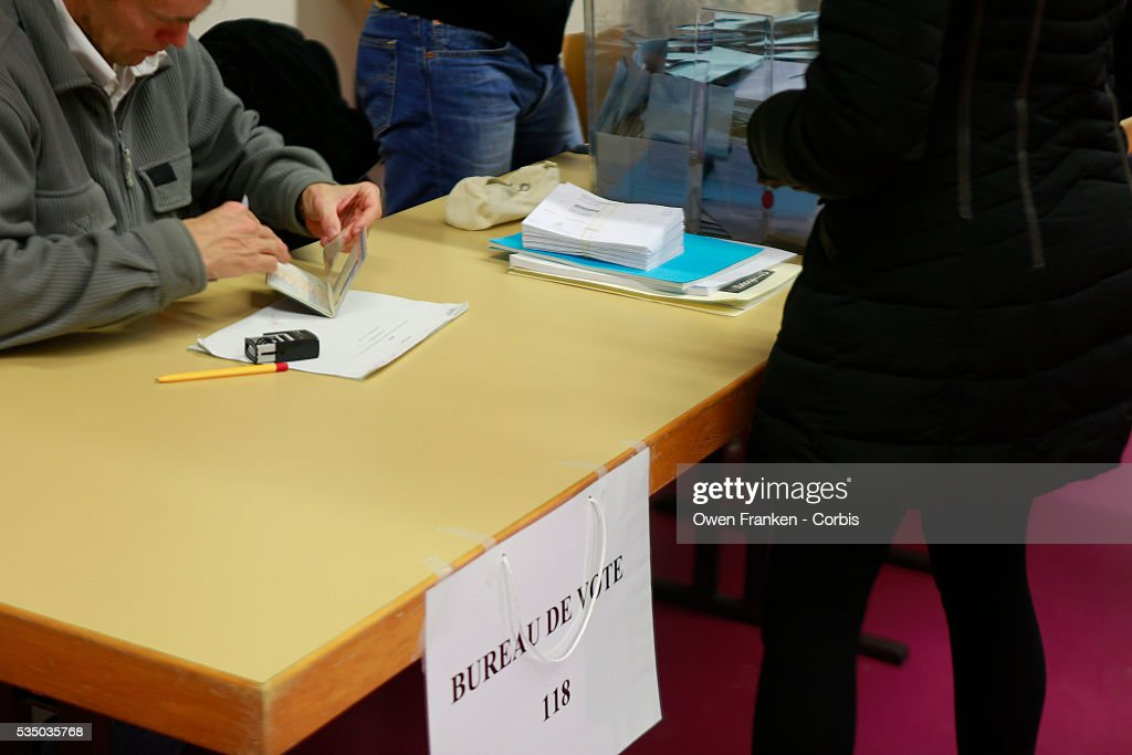 France regional vote in strasbourg pictures getty images