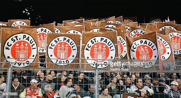 Regionalliga Nord 04/05, Hamburg, 05.04.05; FC St. Pauli - Hamburger SV Amateure; Pauli Fans