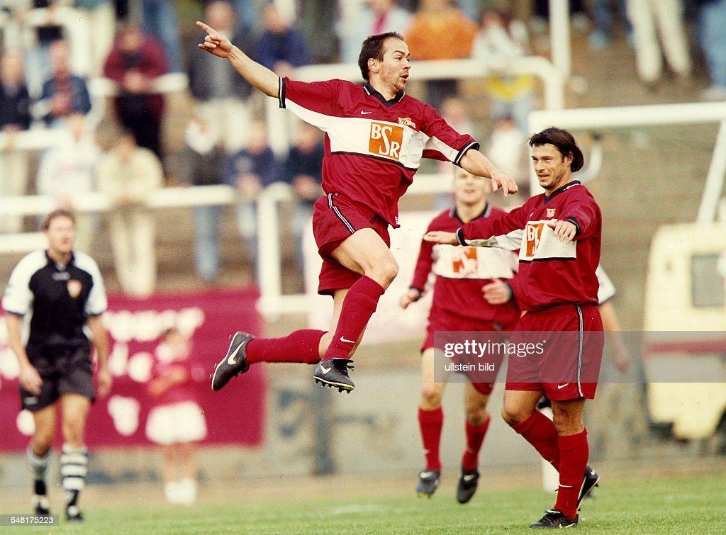 Fussball Berlin ab 1990 : News Photo