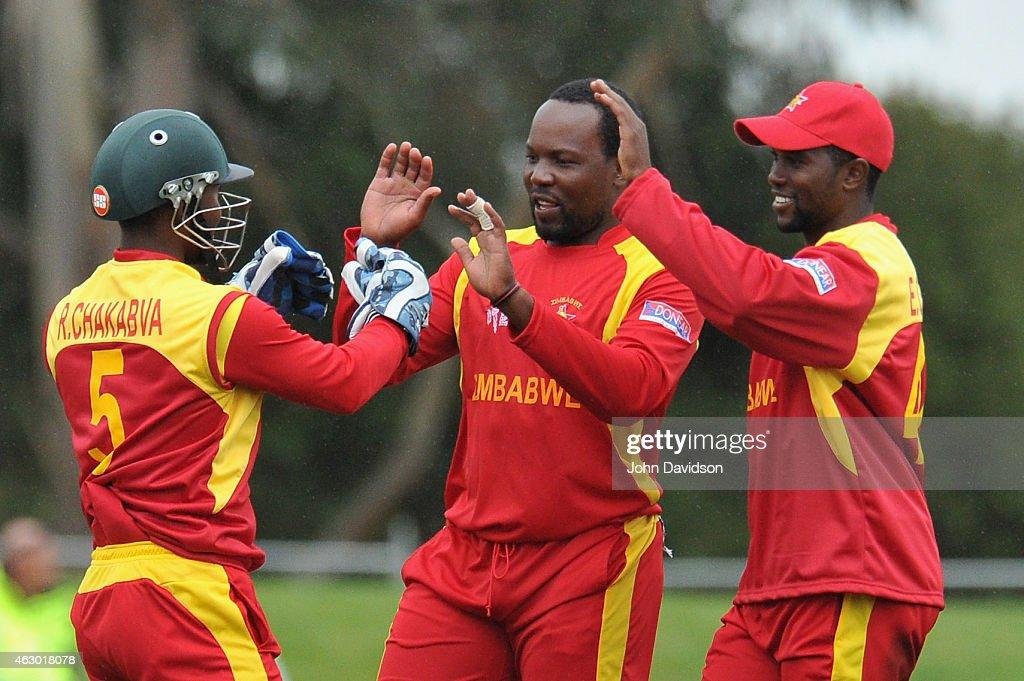 New Zealand v Zimbabwe - ICC CWC Warm Up Match