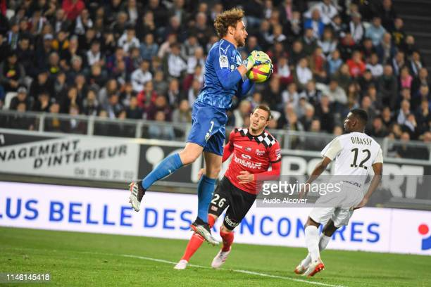 Regis Gurtner of Amiens during the Ligue 1 match between Amiens Sporting Club and EA Guingamp on May 24 2019 in Amiens France