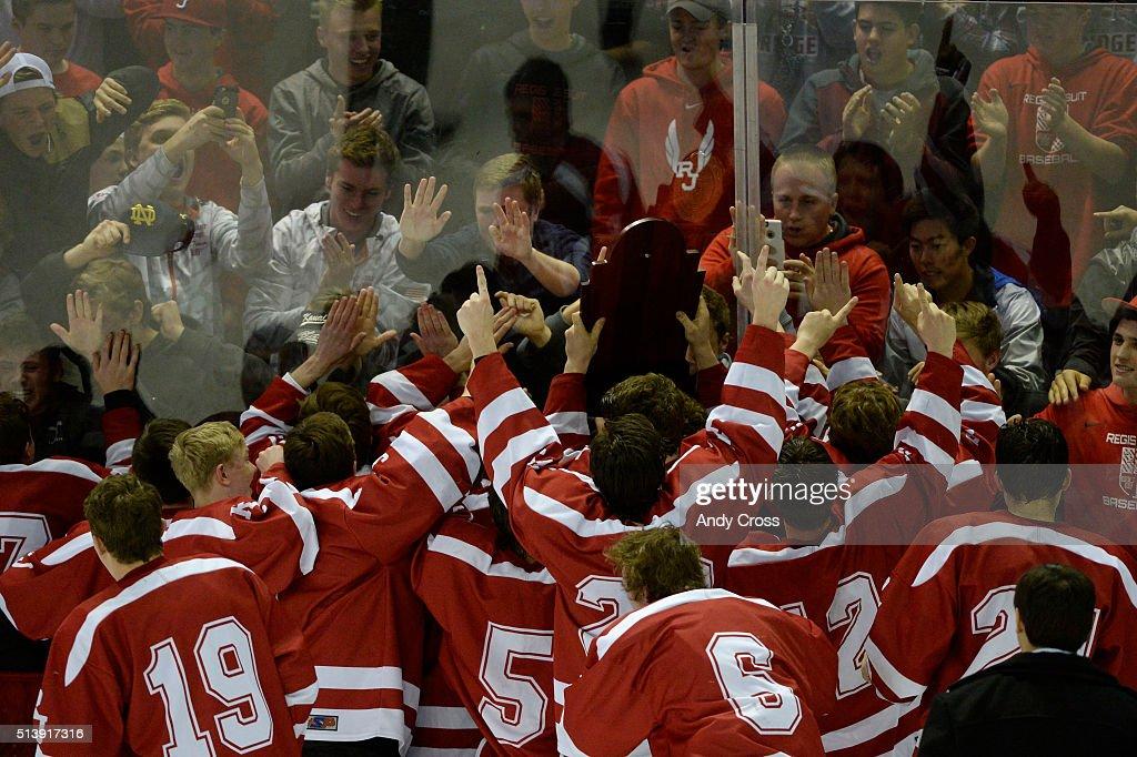 Colorado State 2016 High School Hockey Championship : News Photo