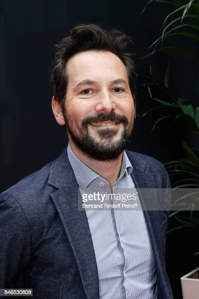 Regis Mailhot attends the RTL RTL2 Fun Radio Press Conference to announce their TV Schedule for 2017/2018 at Elysee Biarritz at Cinema Elysee...