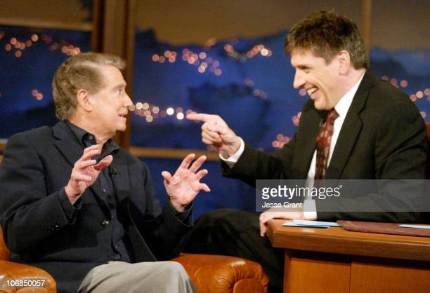 Regis Philbin and Craig Ferguson during Regis Philbin and Rob Morrow Visit The Late Late Show with Craig Ferguson January 18 2005 at CBS Television...