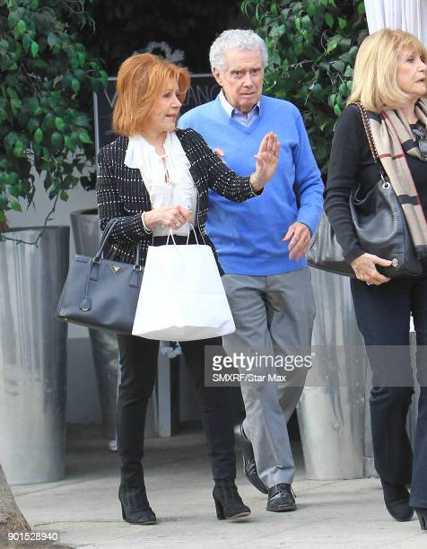 Regis Philbin and Joy Philbin are seen on January 4 2018 in Los Angeles CA
