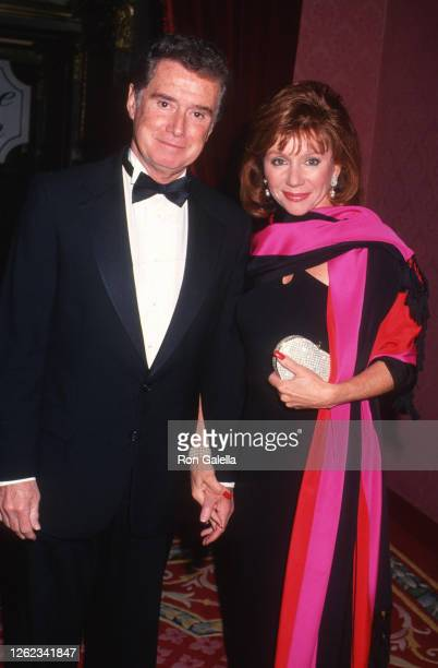 Regis Philbin and Joy Philbin attend 12th Annual Alfred P Slone Jr Memorial Awards at the Plaza Hotel in New York City on April 26 1993