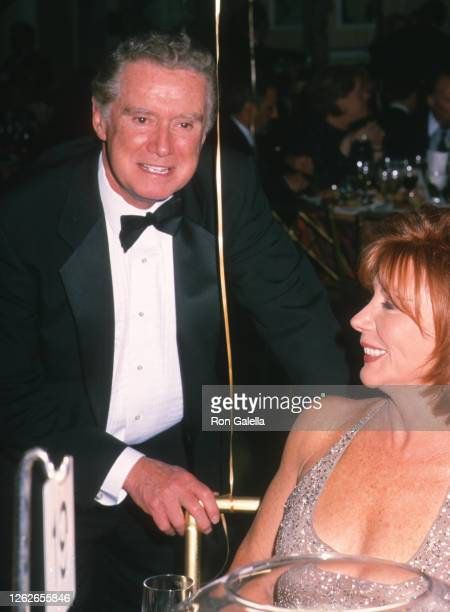 Regis Philbin and Joy Philbin attend American Cancer Society Gala Honoring Regis Philbin at the Pierre Hotel in New York City on May 7 2001