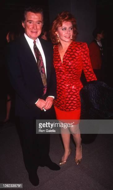 Regis Philbin and Joy Philbin attend Bugsy Premiere at the Museum of Modern Art in New York City on December 10 1991