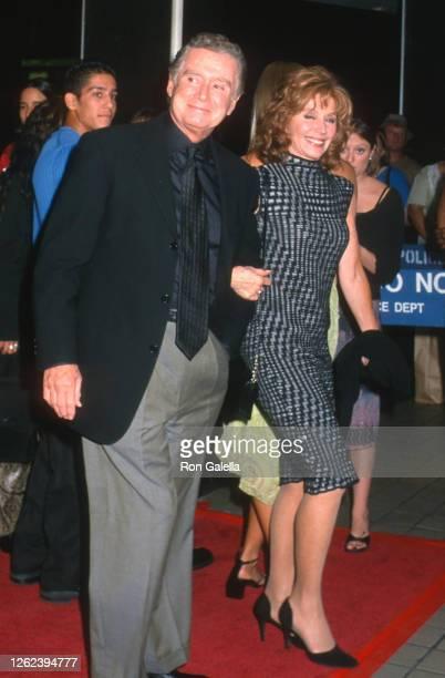 Regis Philbin and Joy Philbin attend Louis Vuitton Classic Honoring Aretha Franklin at Rockefeller Center in New York City on September 21 2000