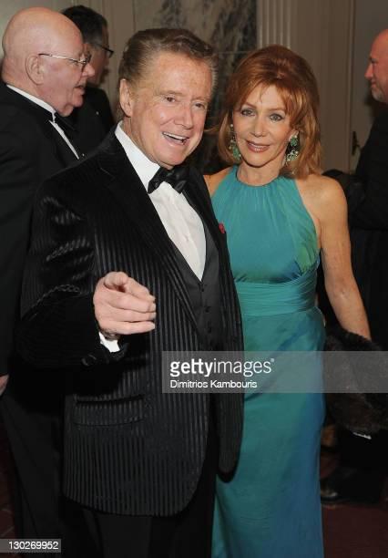 Regis Philbin and Joy Philbin attend the 2011 Rita Hayworth Gala at The Waldorf=Astoria on October 25 2011 in New York City